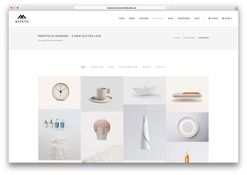 Create Portfolio Design Website For You