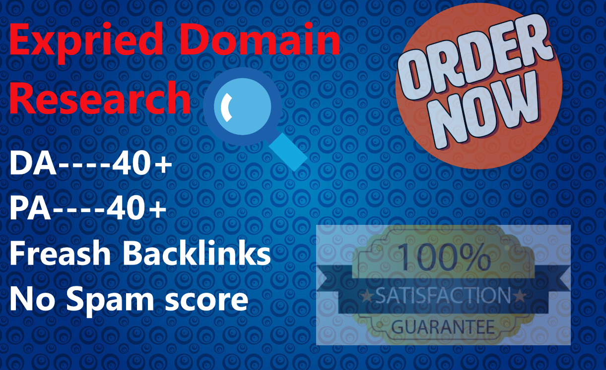 Research Expired Domain For Pbn Within 24 Hours