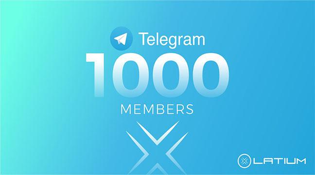 1050 High Quality Telegram Members
