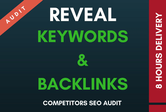 Reveal Your Competitor SEO Keywords, BACKLINKS And Their Strategy