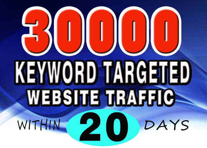 1500 DAILY KEYWORD TARGETED WEBSITE TRAFFIC for 20 days