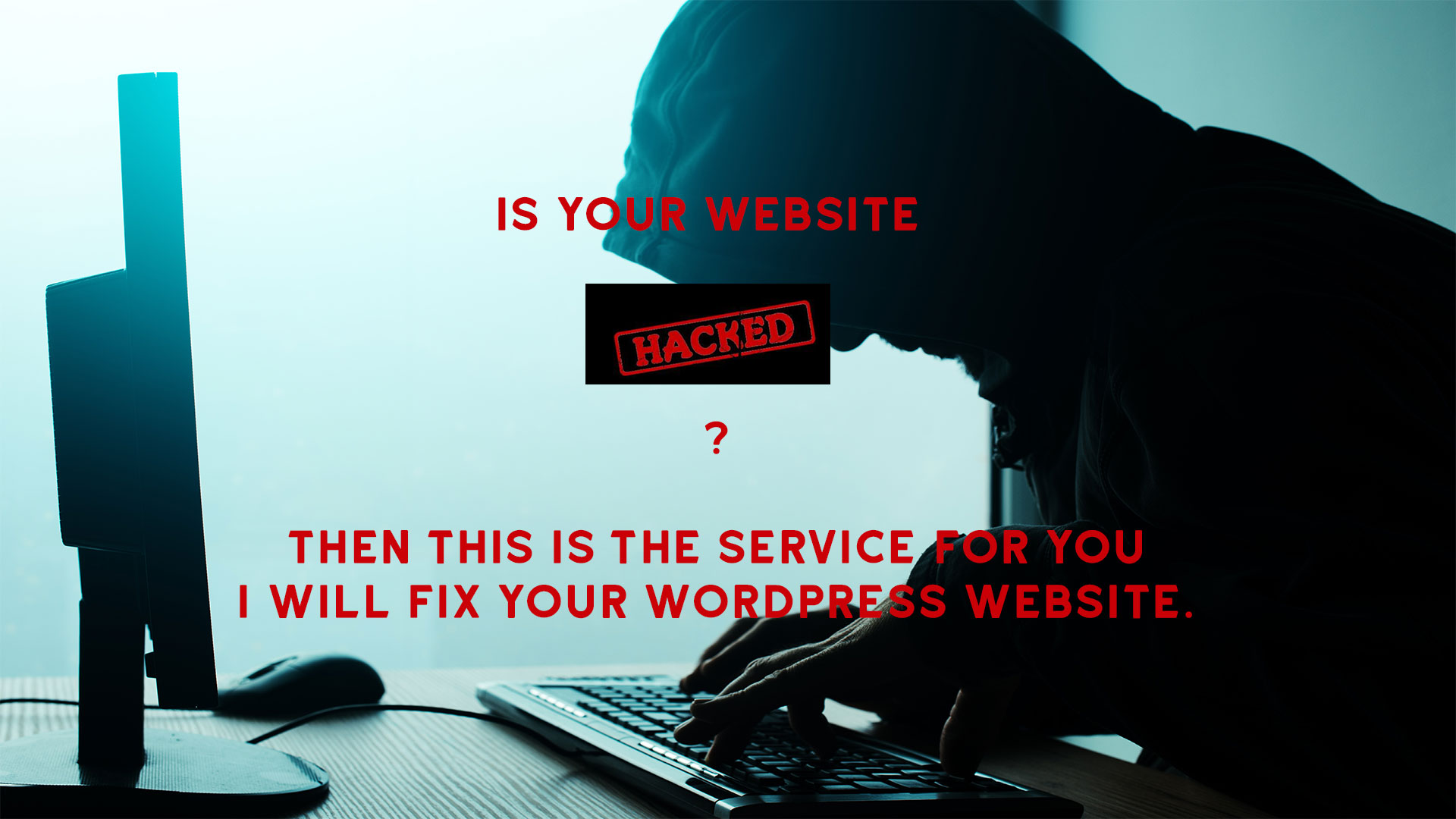 fix your Hacked Wordpress site along with Lifetime Security