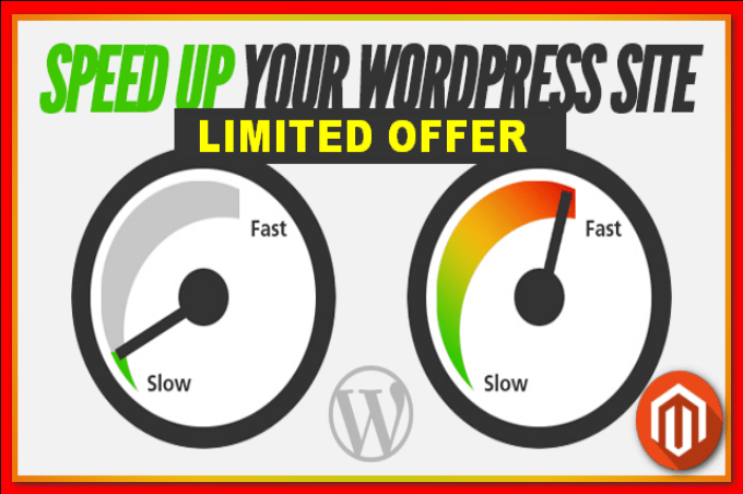 increase your website speed in 24h
