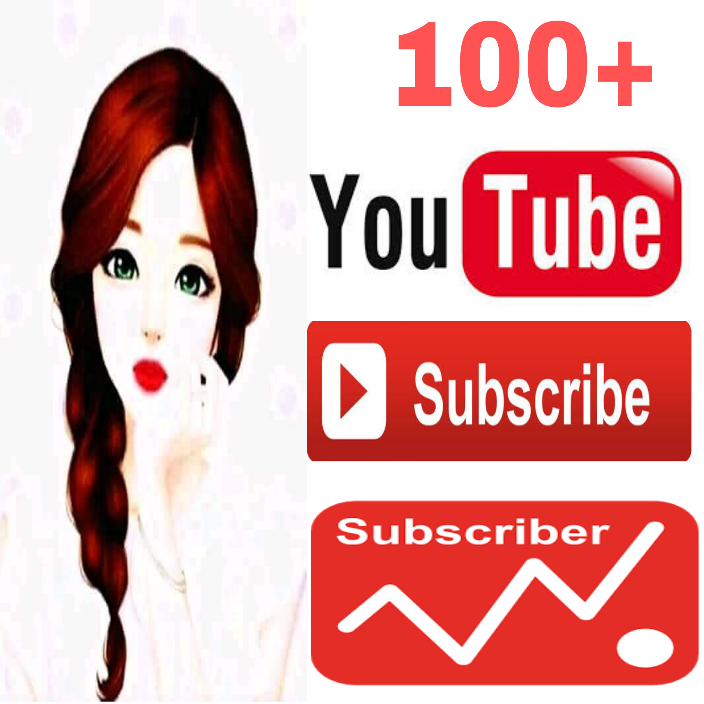 Always active real 100+ channel subscriber non drop guarantee very fast in 2-2 hours
