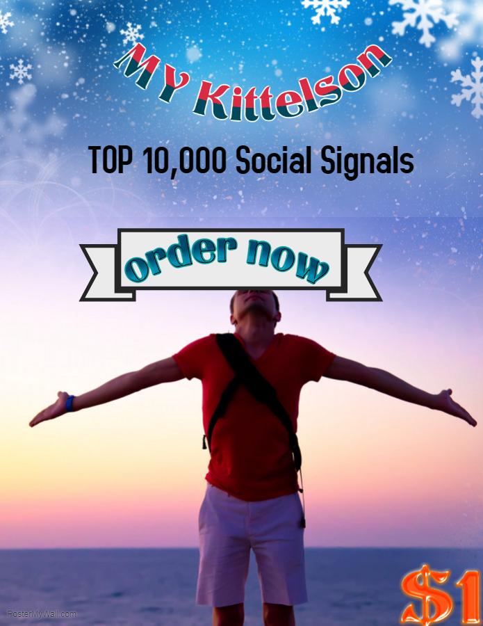 10,000 Social Signals Come From Top 3 Social Media Si...