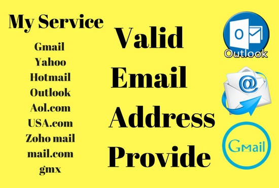 i wil create 20 email address for you