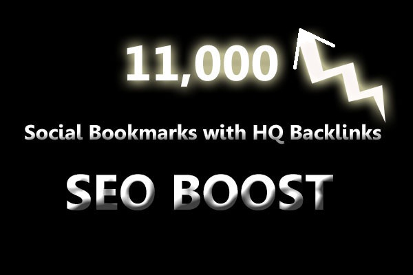SEO Social Bookmarks with backlinks for your website and keywords