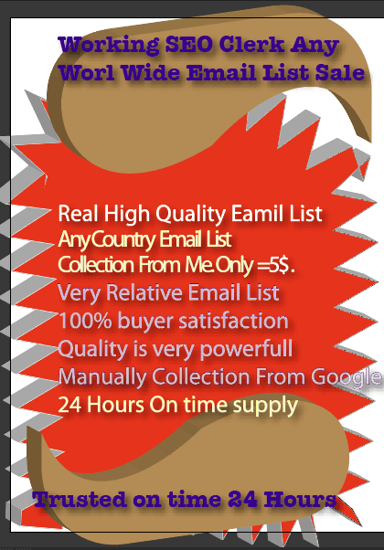 Creative No Spam Legal Email List 1500