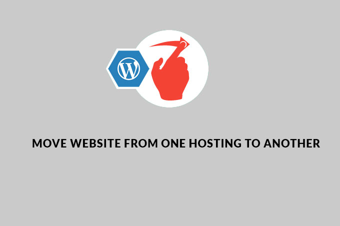 Move your website to new hosting