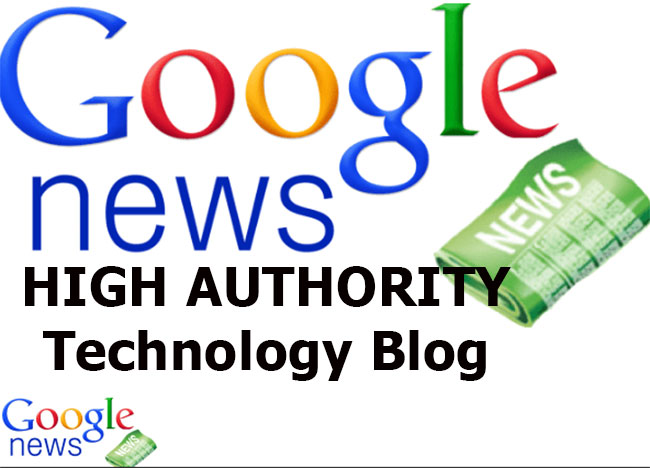 Publish Your Press Release To Our High Authority DA PA Google News Technology Site