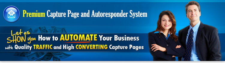 Premium Capture page and Autoresponder System