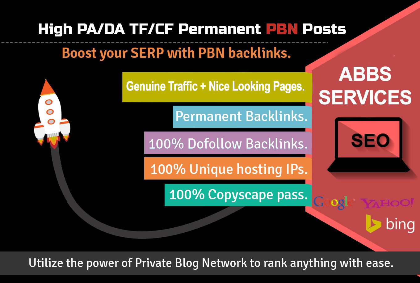 6 PBN Posts - Unique Domains, Live Websites, Permanent Link