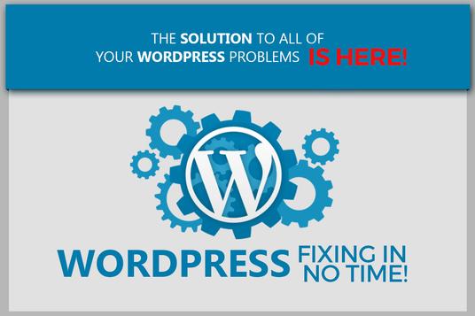 Fix Your Wordpress Site