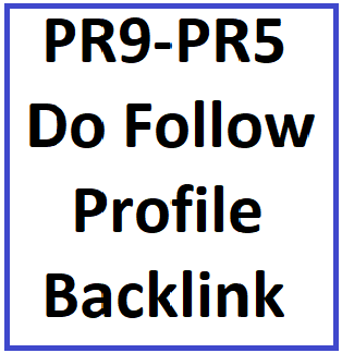 SEO Bump get  60 PR9 to PR5 Do Follow Profile Backlinks  to Boost Your Rankings on Google