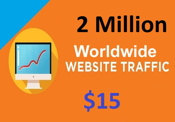 I will send 2 Million Real Website Traffic Visitor Hits