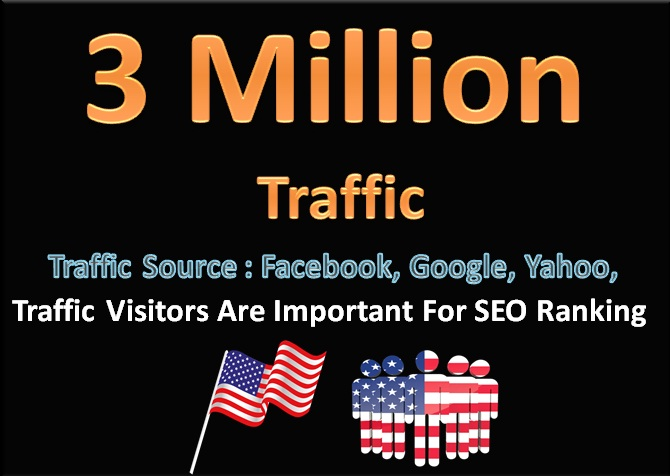 3 Million Unlimited Traffic Visitors Come From Social Media