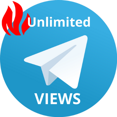 400 - 40k telegram view for 1 week unlimited post