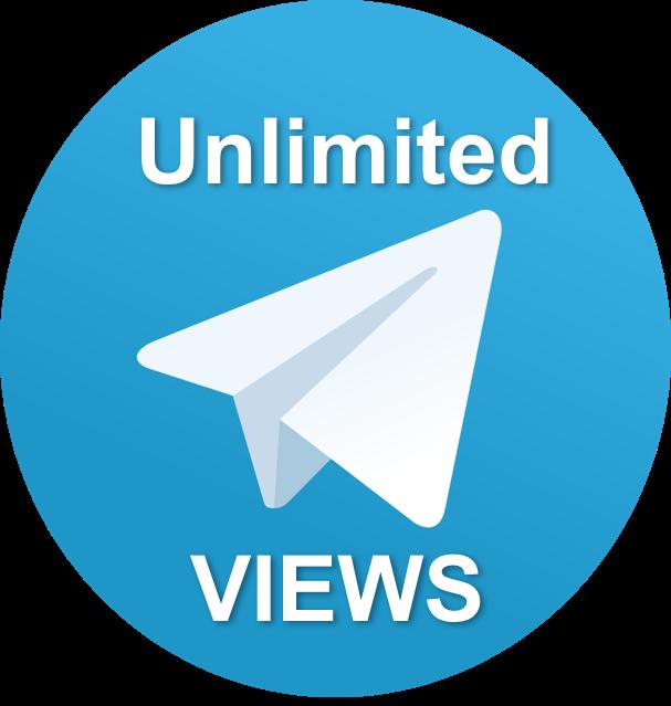 100 - 400 telegram unlimited view for 1 week
