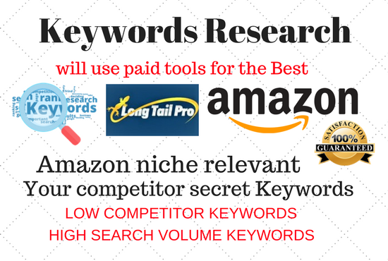 Do keyword research and competitor analysis for your ...