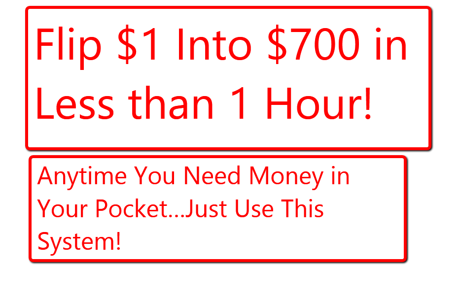 I will show you easy way to make money online fast system