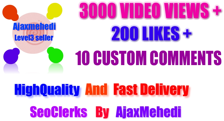 Genuine High Quality YouTube Video Promotion Service