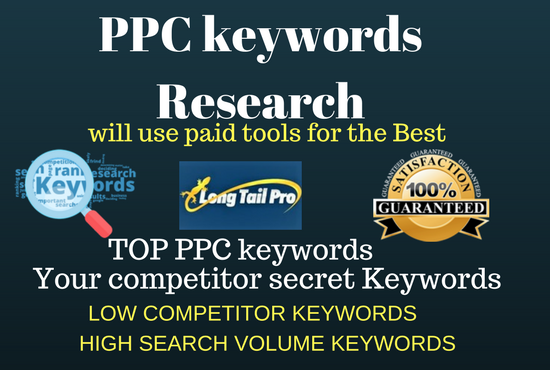 Do PPC keyword research for adwords campaign