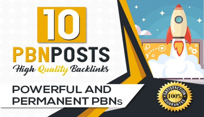 Build 10 High Metrics PBN Posts With Contextual Backlinks