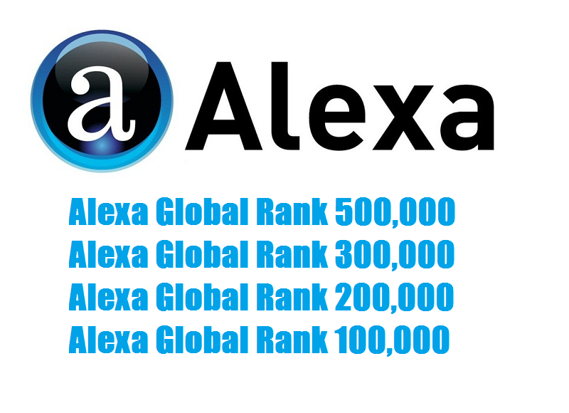 improve Global Rank TOP 500,000 within a month