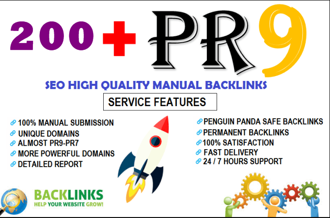Seo High Quality  Backlink  Package For Organic  Traffic To Your Site
