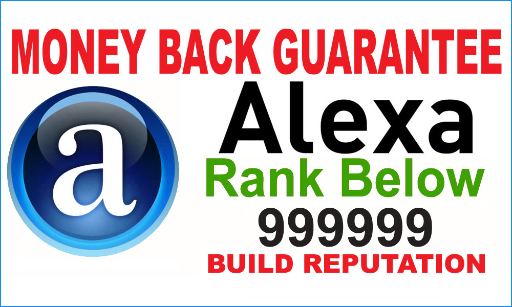 ALEXA USA  RANKING SERVICES  BELOW 150K GUARANTEED LESS THAN DAYS DELIVERY OR YOUR MONEY BACK SPECIAL OFFER