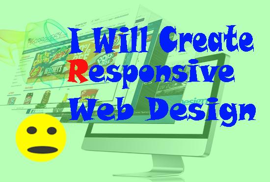 Create Responsive Web Design