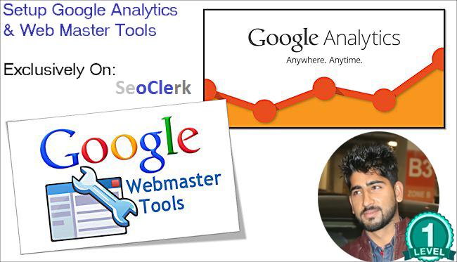 Setup Google Webmaster Tools