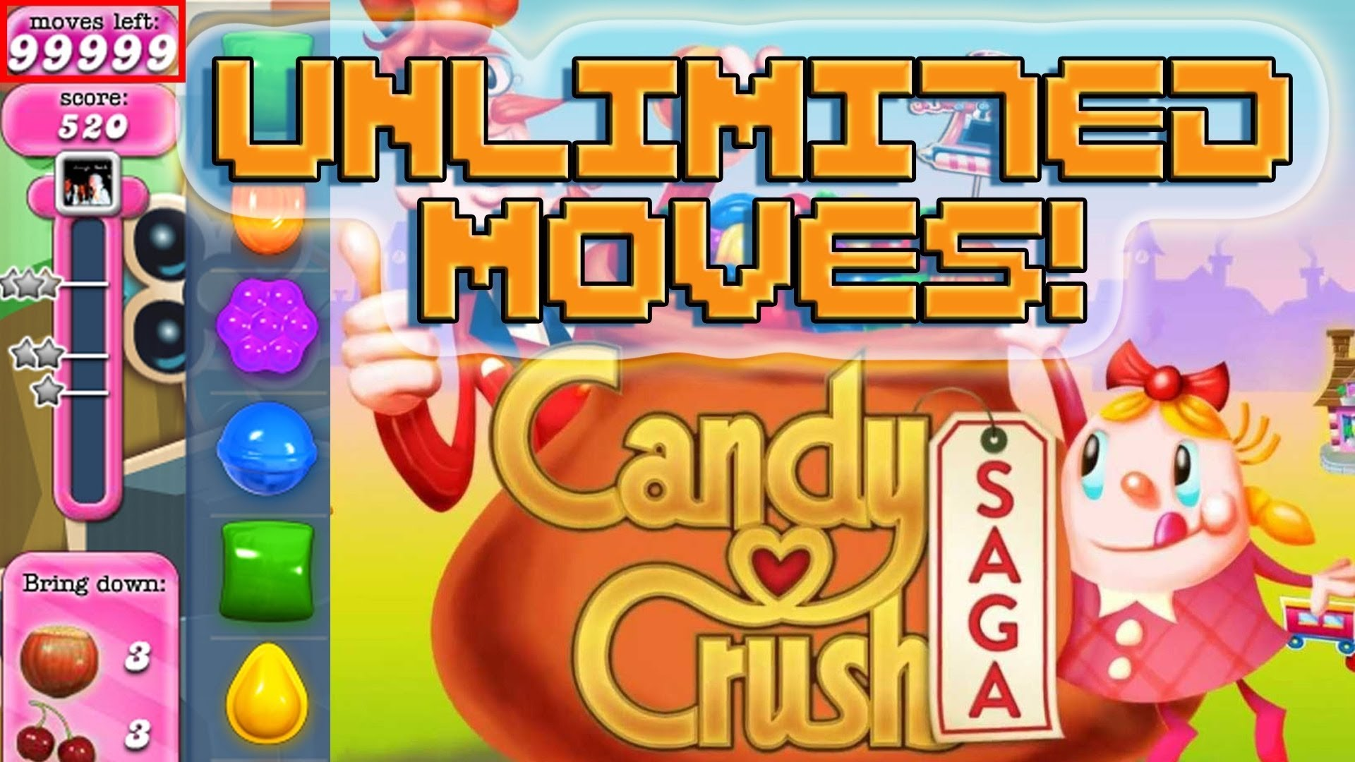 Candy Crush Saga Mega Mod Packages [Packages 1]
