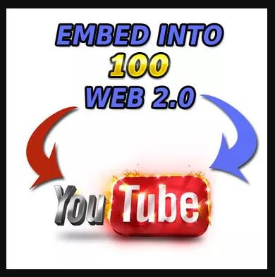 Embed Your Youtube Video Into 100 Web 2.0 Publications