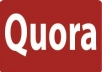 60 High quality worldwide quora upvoted