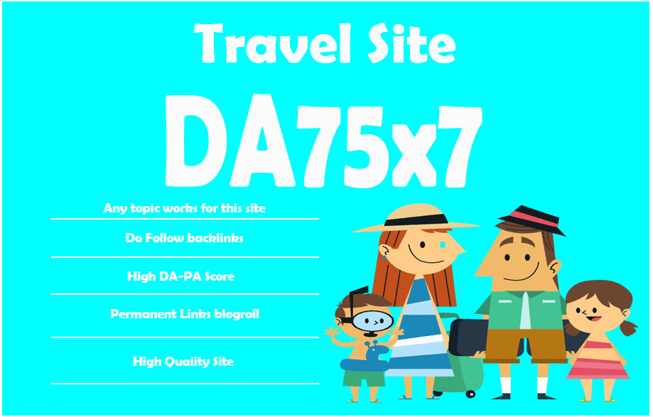 Give-Link-Da75x7-HQ-Site-Travel-Blogroll-Permanent