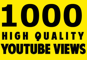 Super Star 1000 YouTube Vi-ews Retention and Non drop Video Quick Delivery