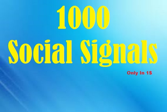 Viral Your Website Through 1000 Social Signals & Social  Share