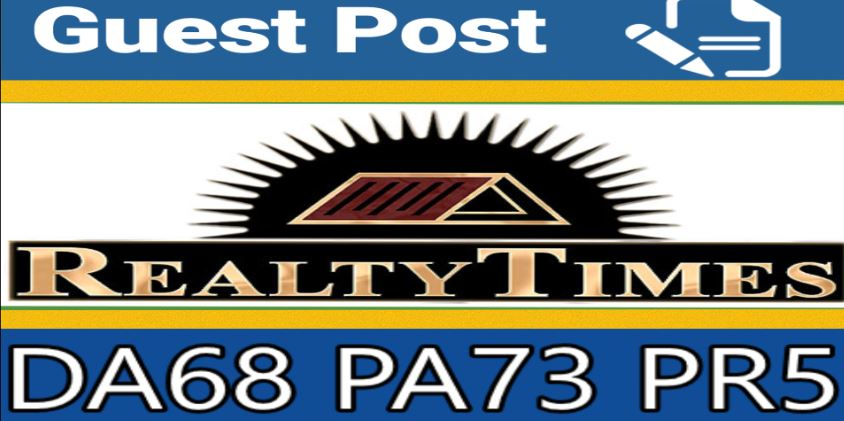 Do Guest Post On Realtytimes Com an Home Improvment Site