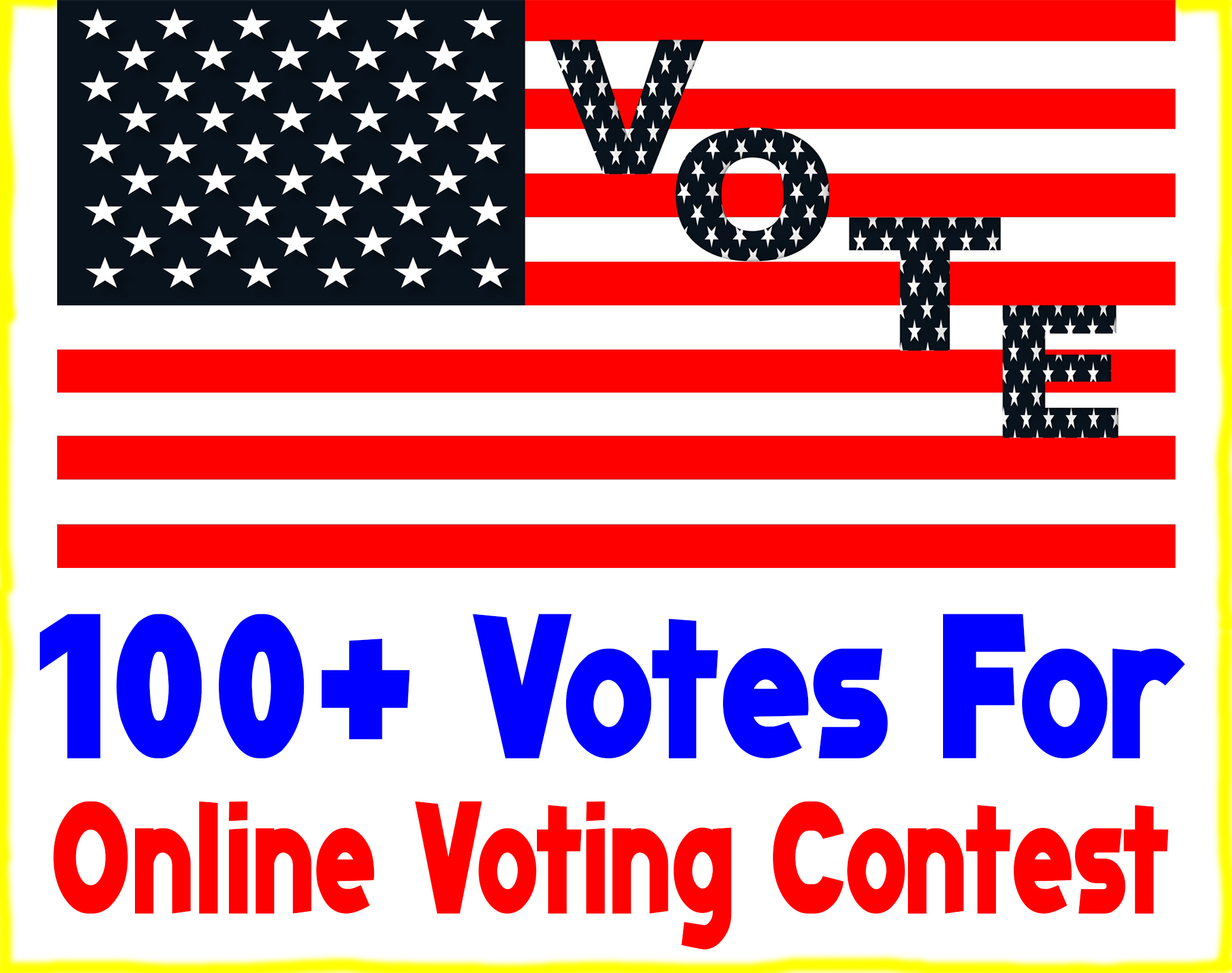 Give 100+ Votes For Your Online Voting Contest within 12 Hours