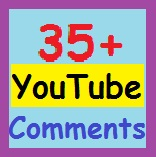 35 YouTube custom coments And 20+ YouTube subscriber-s supper fast delivery