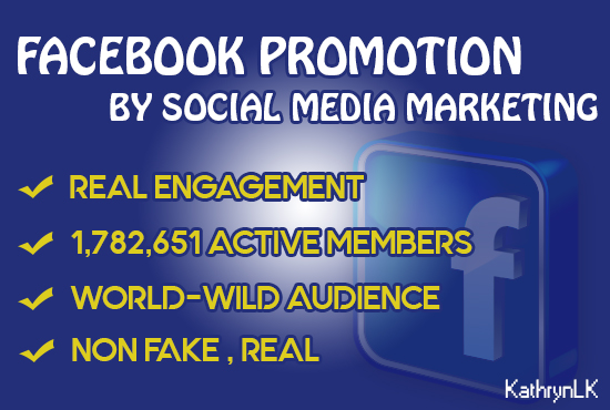 Facebook page promotion packages