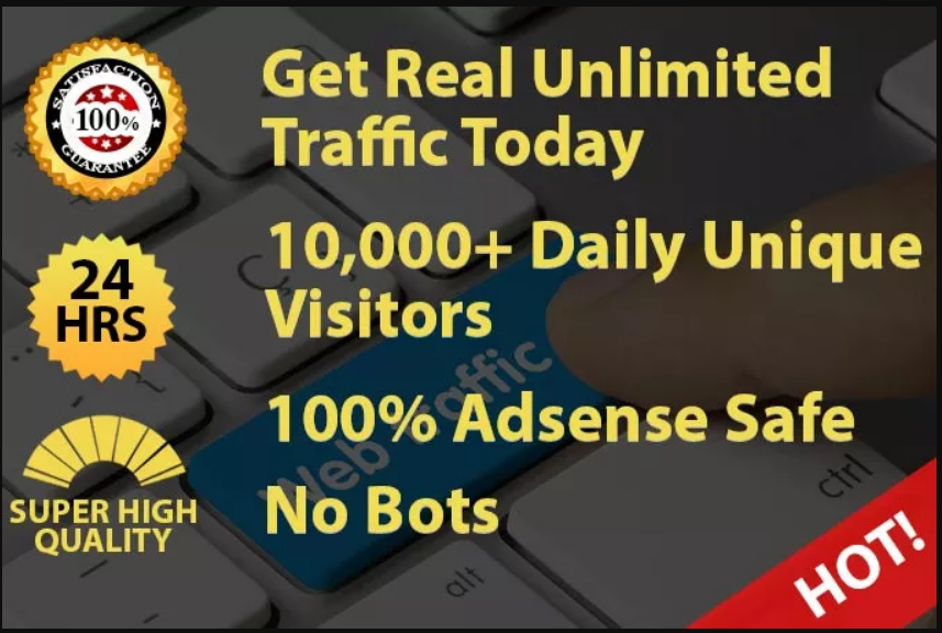Limited Offer 1000 Website Traffic To Make Attractive Website