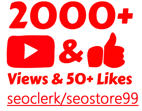 Instant start 2000+ to 4000+ Non-drop views within 12 to 24 hours