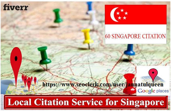 Create 60 Live Local Citation For Singapore
