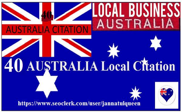 Create 40 Live Local Citation For Australia