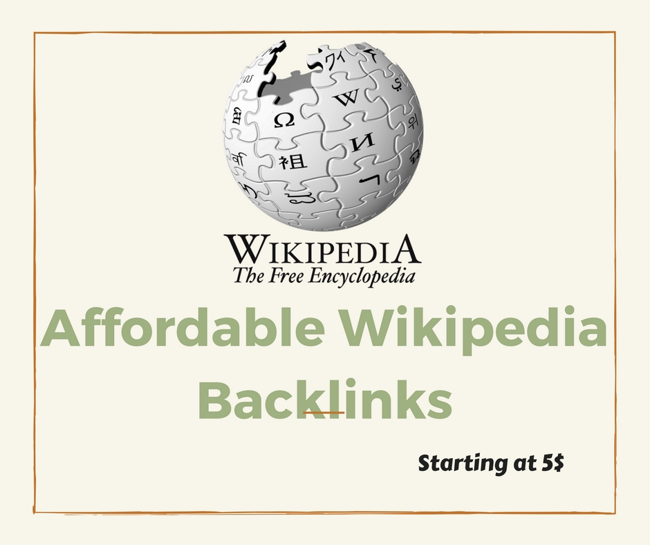 Most Powerful Niche Relevant Wikipedia SEO Backlinks from Trusted Seller