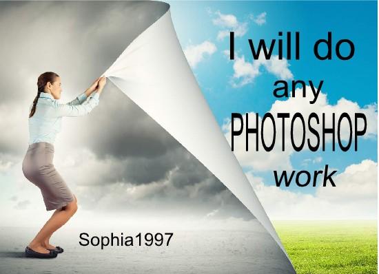 job do any PHOTOSHOP
