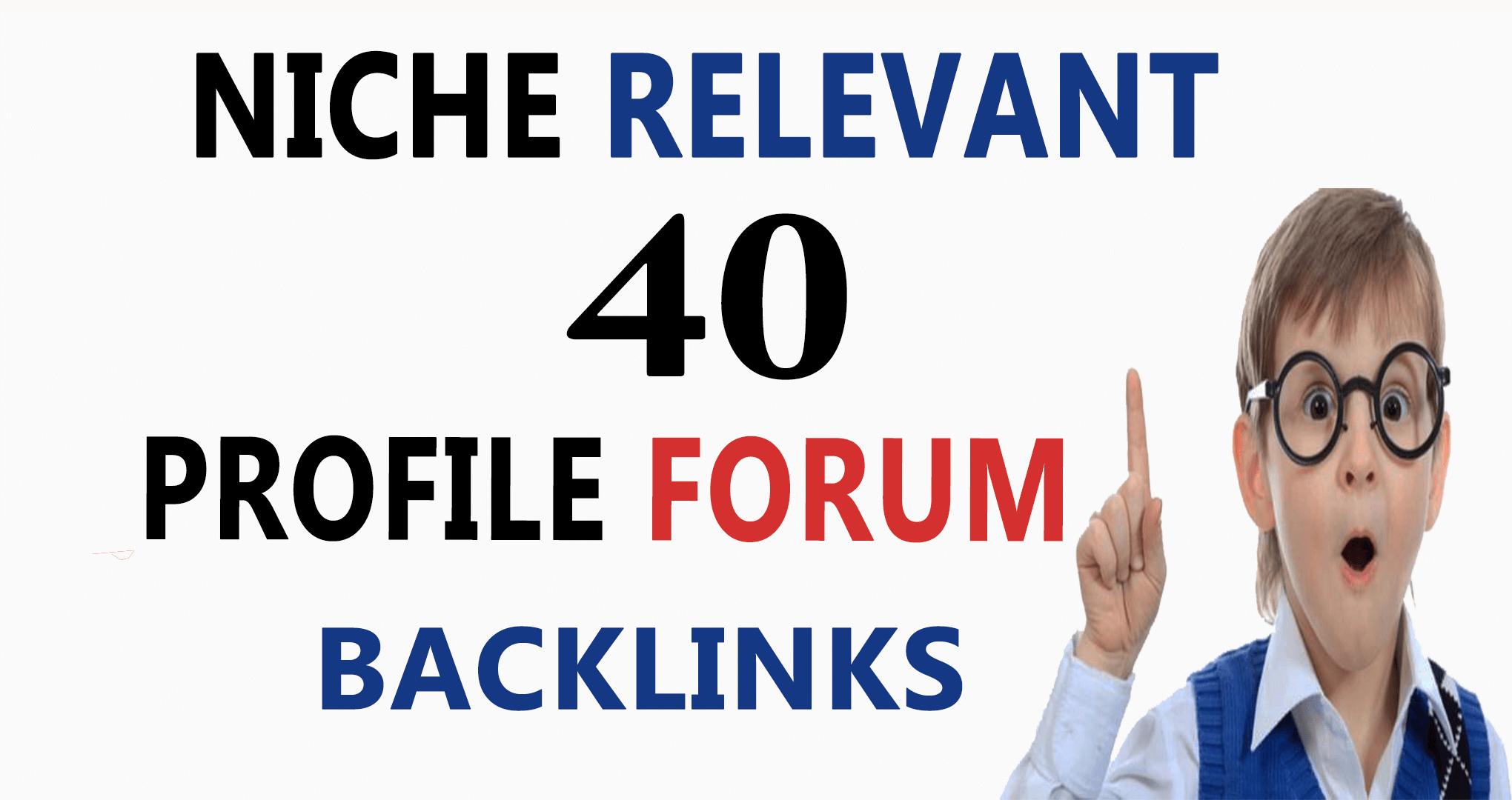 do 40 profile forum backlinks on any forums