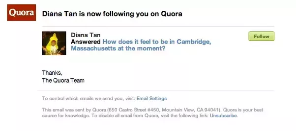 30 HQ worldwide quora follower